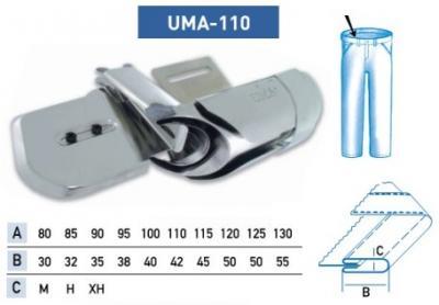Приспособление UMA – 110 100-40 мм Н (для изготовления пояса)