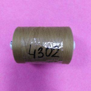 4302 Нитки 45 ЛЛ светло коричневый «Санкт-Петербург» 2500м