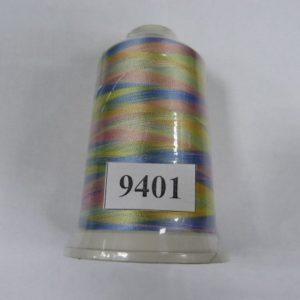 Нитки вискоза FUFU'S мультиколор (5000м) 9401