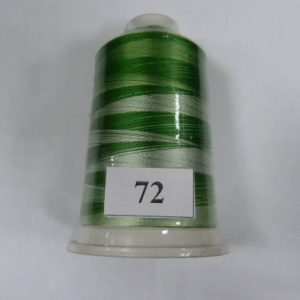 Нитки вискоза FUFU'S мультиколор (5000м) 72