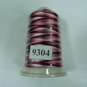 Нитки вискоза FUFU'S мультиколор (5000м) 9304