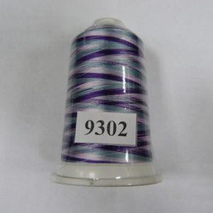 Нитки вискоза FUFU'S мультиколор (5000м) 9302