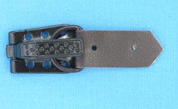 Крючки шубные* (кр.23х15мм, хл.25х11мм, к.11х7,5х2мм) (уп.100шт) т. коричневый