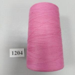 1204 Нитки 70 ЛЛ розовый пыльный «Санкт-Петербург» 2500м
