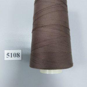 5108 Нитки 70 ЛЛ серо-коричневый «Санкт-Петербург» 2500м