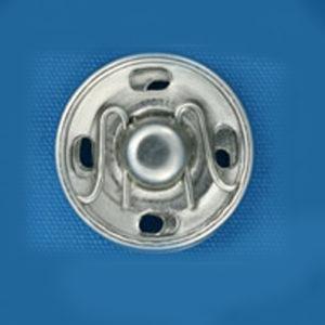 Кнопка потайная 13мм (уп. 20шт.) никель