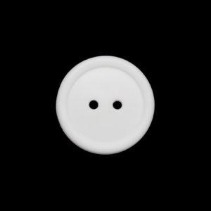 Пуговица 2-П д.20мм белая (1000 шт/уп)