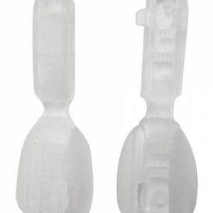 Концевик №2 прозрачный (уп.1000шт.)