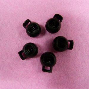 Фиксаторы №2 шариковый черный (уп. 500шт.)