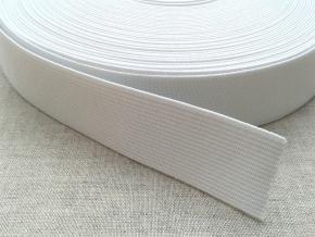 Резинка белая 0025 (1рул.-50м))