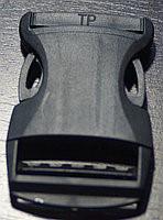 Защелка-трезубец шир.40 мм черный,уп-100 шт