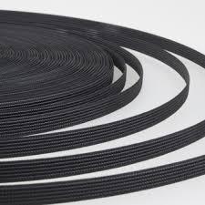 Ригелин 12 мм, черный, рул – 45 м