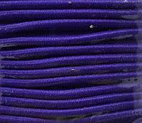 Резинка шляпная * диам. 3 мм  (уп.100м)  204 ДС т. фиолетовый