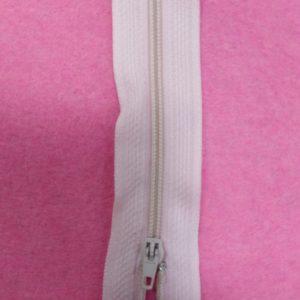 Молния юбочная 20 см №217 ДС бледно-розовый