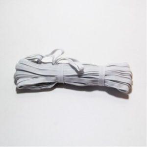 Резинка-продежка  8мм (1уп.-10м) белая (Россия)