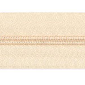 Рулонная молния спираль №3 10.25гр/м 200м/рул (306 молочный)