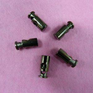Фиксаторы №20 цилиндр под металл черный никель (500 шт/упак)