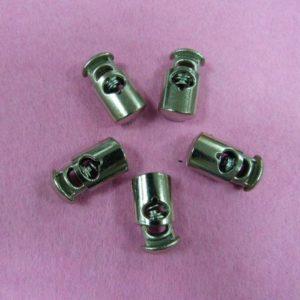 Фиксаторы №15 цилиндр под металл никель (500 шт/упак)