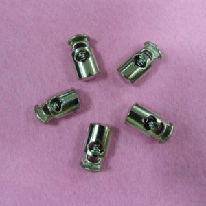 Фиксаторы №5 цилиндр под металл никель (500 шт/упак)