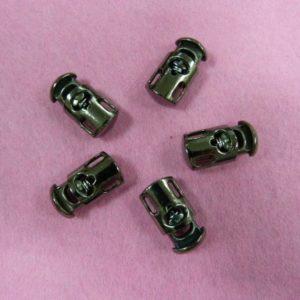 Фиксаторы №15 цилиндр под металл черный никель (500 шт/упак)