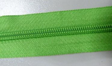 Рулонная молния спираль №5 17.50гр/м 200м/рул (237 зелень)