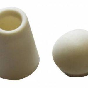 Концевик №1 колокольчик (500 шт/упак) белый с отд.крышкой