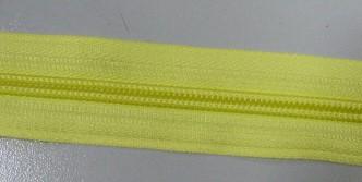 Рулонная молния спираль №5 14.50гр/м 200м/рул (503 желтый)