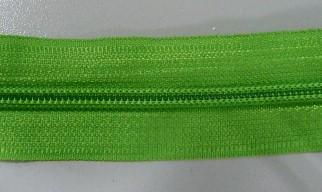 Рулонная молния спираль №5 14.50гр/м 200м/рул (536 светло зеленый)