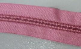 Рулонная молния спираль №5 14.50гр/м 200м/рул (514 розовый)