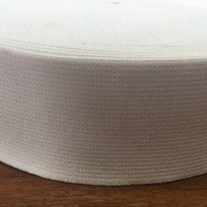 Резинка тканая 0040 белая (1рул-20м)