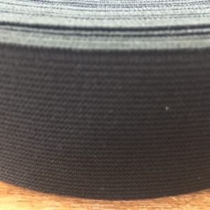 Резинка тканая 0040 черная (1рул-20м)
