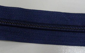 Рулонная молния спираль №5 17.50гр/м 200м/рул (330 темно-синий)