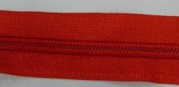 Рулонная молния спираль №5 17.50гр/м 200м/рул (162 красный)