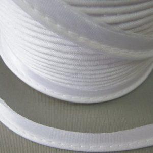 Кант атласный 12 мм №5001 белый