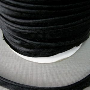 Кант атласный 12 мм №5081 (черный)