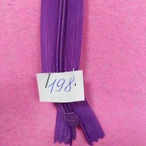 Молния потайная №3 50см ДС-198 фиолетовый