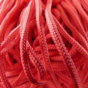 Шнур п/э 4мм красный (1уп-100м)