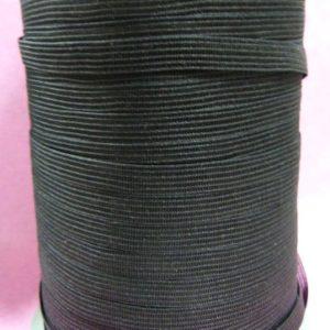 Тесьма в плечо черная 8 мм (600м)