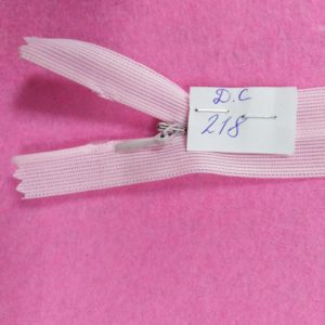 Молния потайная №3 50см ДС-218 светло-розовый