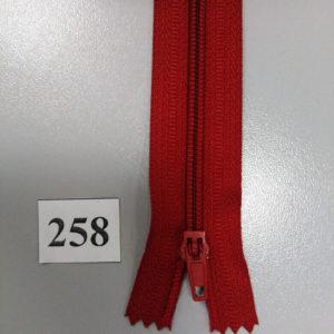 Молния брючная №4 20см ДС-258 красный