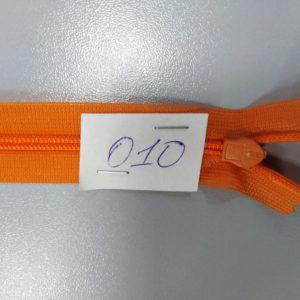 Молния потайная №3 50см ДС-010 оранжевый