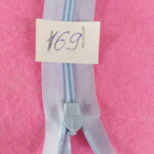 Молния потайная №3 50см ДС-169 светло-голубой
