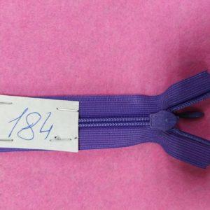 Молния потайная №3 50см ДС-184 фиолетовый