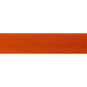 Тесьма киперная 1015 оранжевая  (кат.50м)