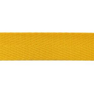 Тесьма киперная 1015 желтая (кат.50м)