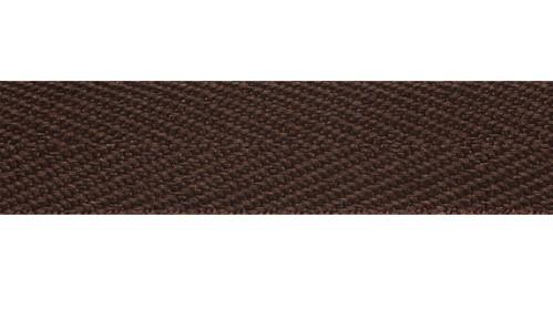 Тесьма киперная 1015 коричневая  (кат.50м)