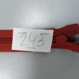 Молния потайная №3 50см ДС-243 терракот