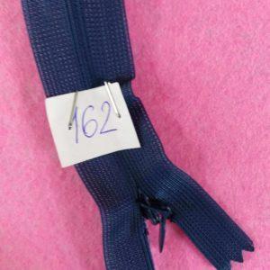 Молния потайная №3 50см ДС-162 синий