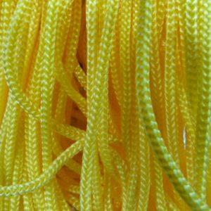 Шнур п/п ширина 4 мм желтый (рул -100 м)
