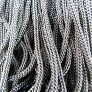 Шнур п/п ширина 4 мм серый (рул -100 м)